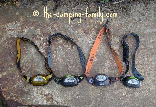 four headlamps