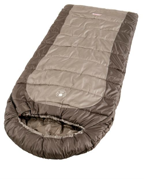 Brown Coleman Sleeping Bag