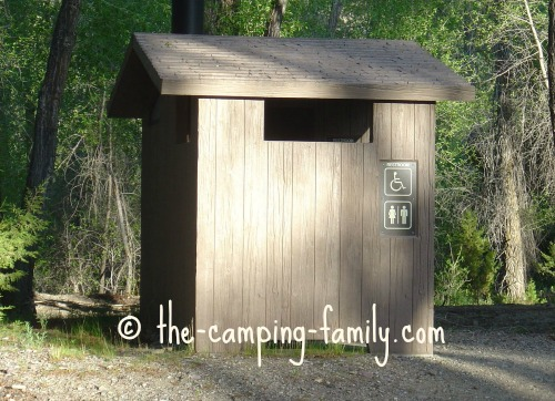 accessible outhouse