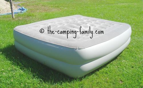 camping air mattress