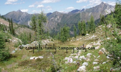 how to choose the pperfect spot for camping