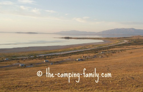 Antelope Island campground