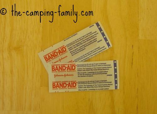 two bandaids