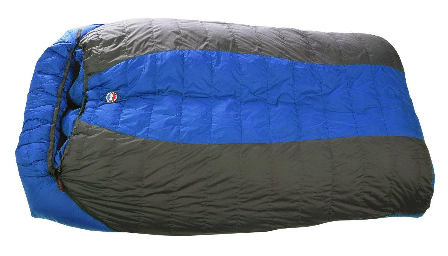 A Double Sleeping Bag: Room For Cuddling!