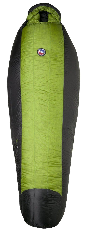 green down mummy bag