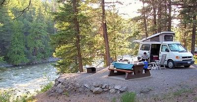 A British Columbia Campsite