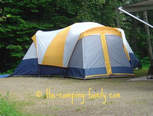 Cabin Style Tents Large Family Camping Tents With Lots Of