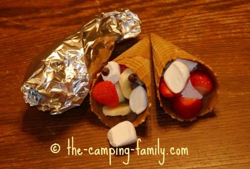 Campfire Cones