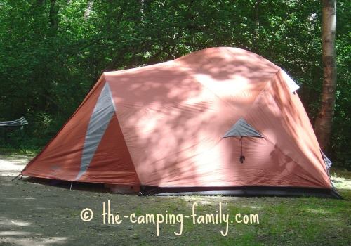 dome camping tent with fly