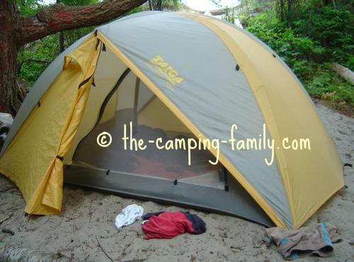 light dome tent