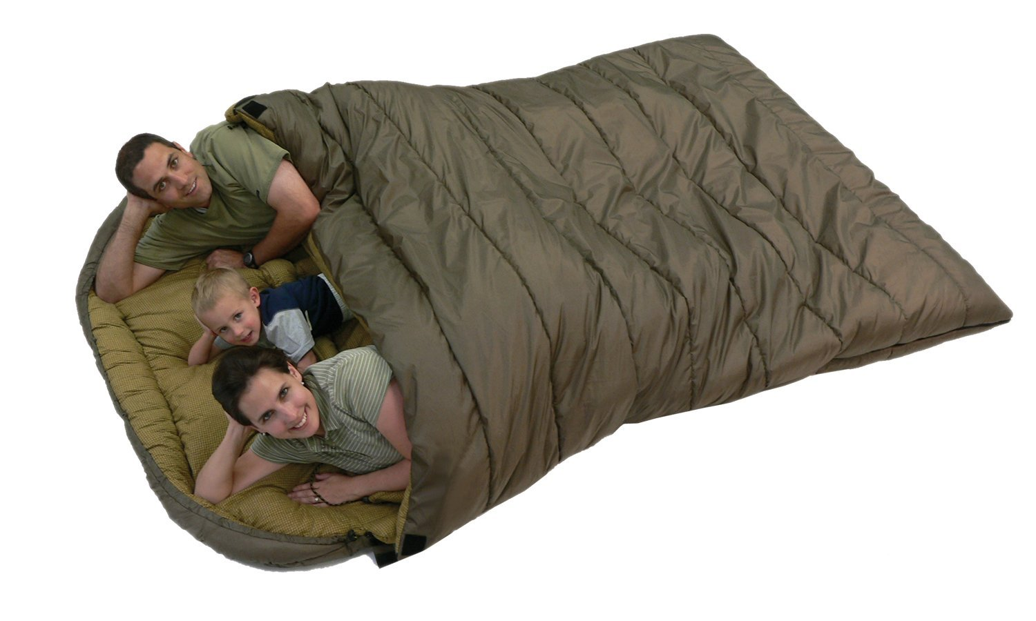A Double Sleeping Bag Room For Cuddling