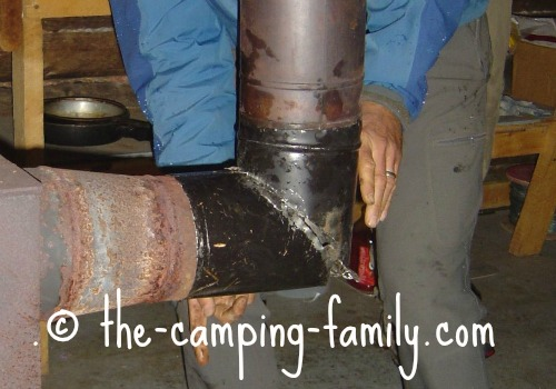 stovepipe on stove