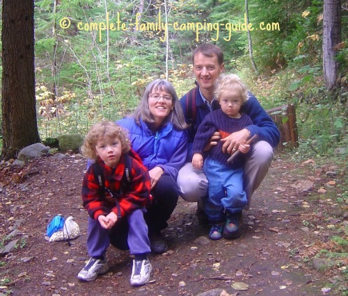 hiking with small children