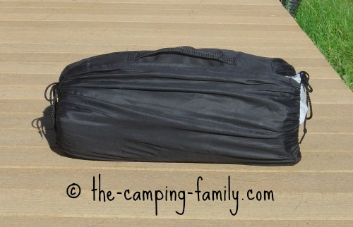 air bed in stuff sack