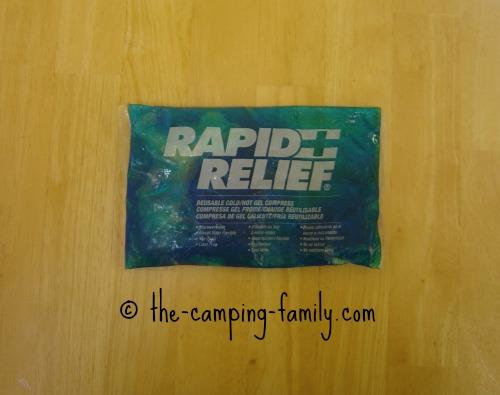 cool gel pack