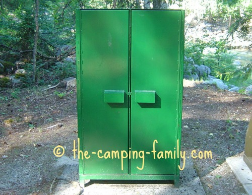 bear proof locker