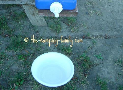 handwashing basin