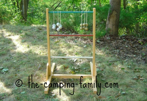 homemade ladderball set