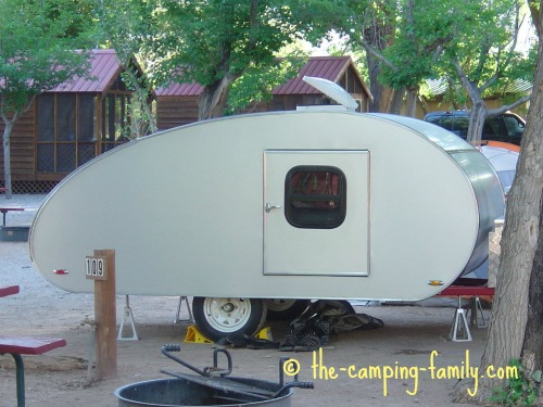 homemade teardrop trailer
