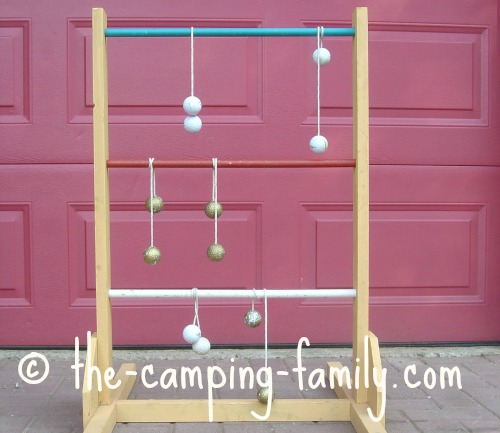 bolos on ladderball set