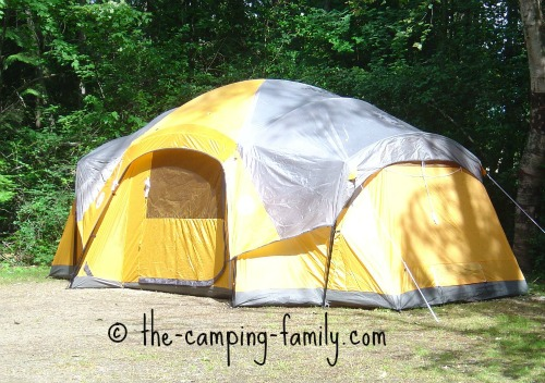 huge family tent