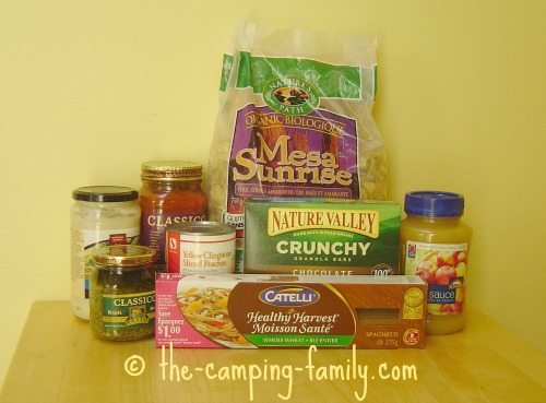 Camping Food List The Best For