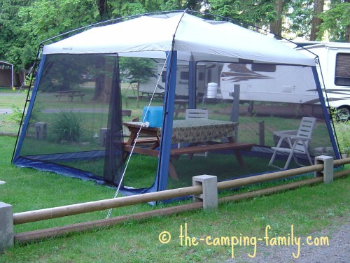 screen tent with no floor
