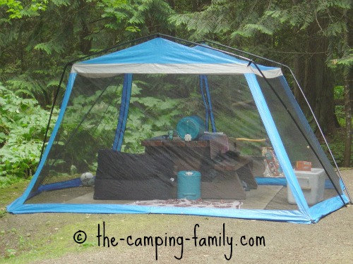 Kitchen Table Play Tent