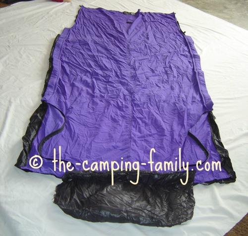 sleeping bag extender