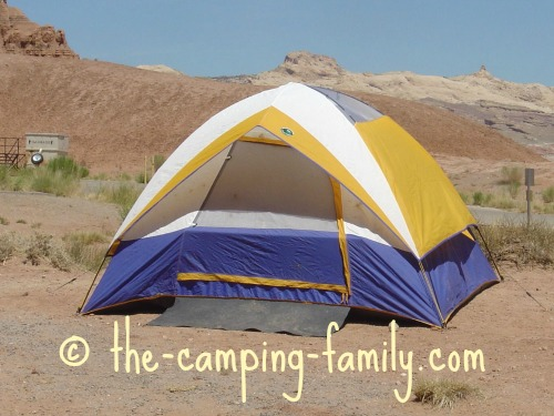 tent with small fly & Tent Waterproofing: Seam Sealing Sealant Sprays Keeping Your ...
