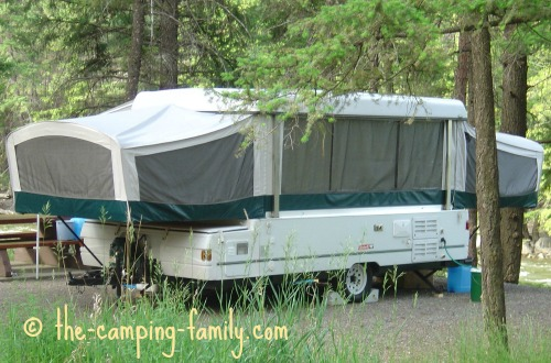 pop up tent trailer