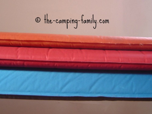 thermarest thicknesses compared