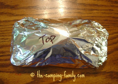 completed foil packet
