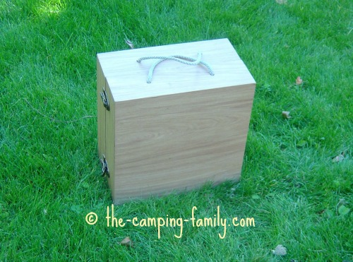 washer toss game in box