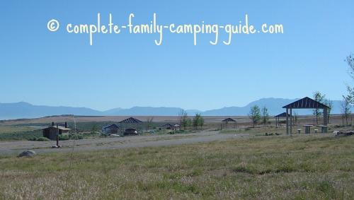 Antelope Island campsites