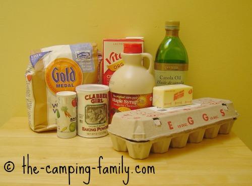 breakfast camping food