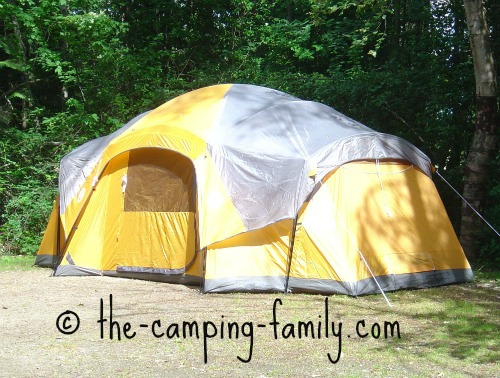 large cabin-dome tent