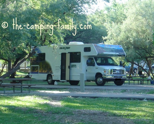 RV in state park