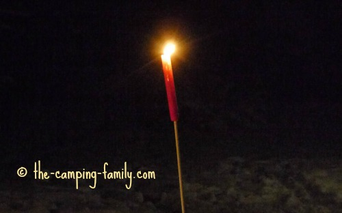 candle stake