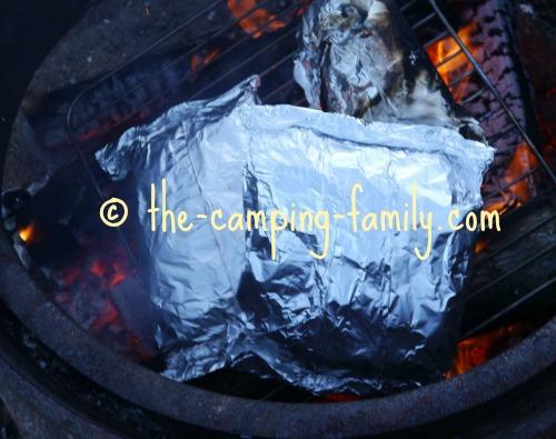 tinfoil dinner on grill