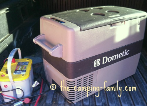 portable camping fridge