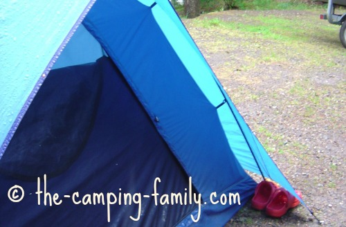 tent with fly