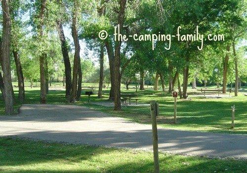 Green River campsites