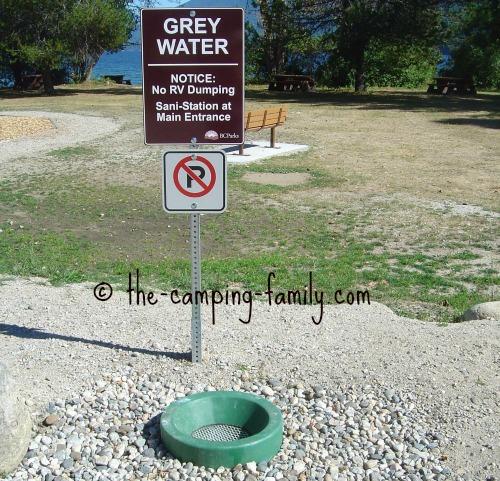grey water dump