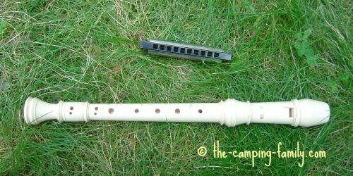 harmonica and recorder