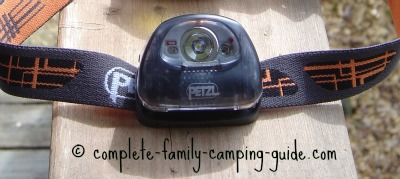 petzl LED headlamp