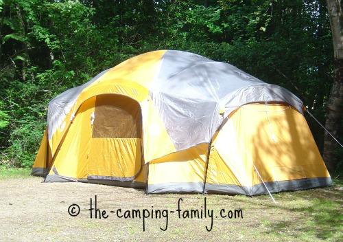 huge family tent