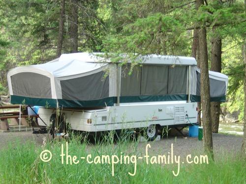large tent camper