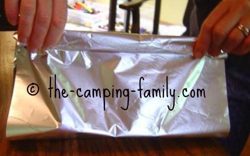 making foil packet