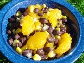 Mandarin Black Bean Salad